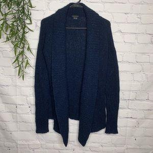 Theory Wool Mohair Angora blend cardigan small